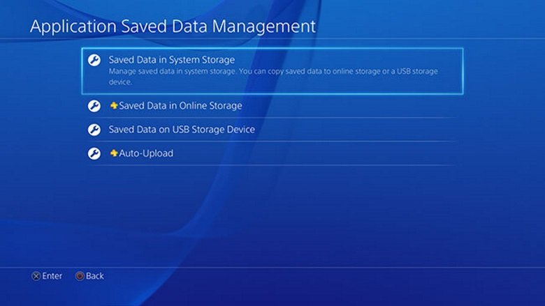 ps4 application data corrupted new hard drive