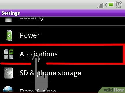 comment degrr applications sur android
