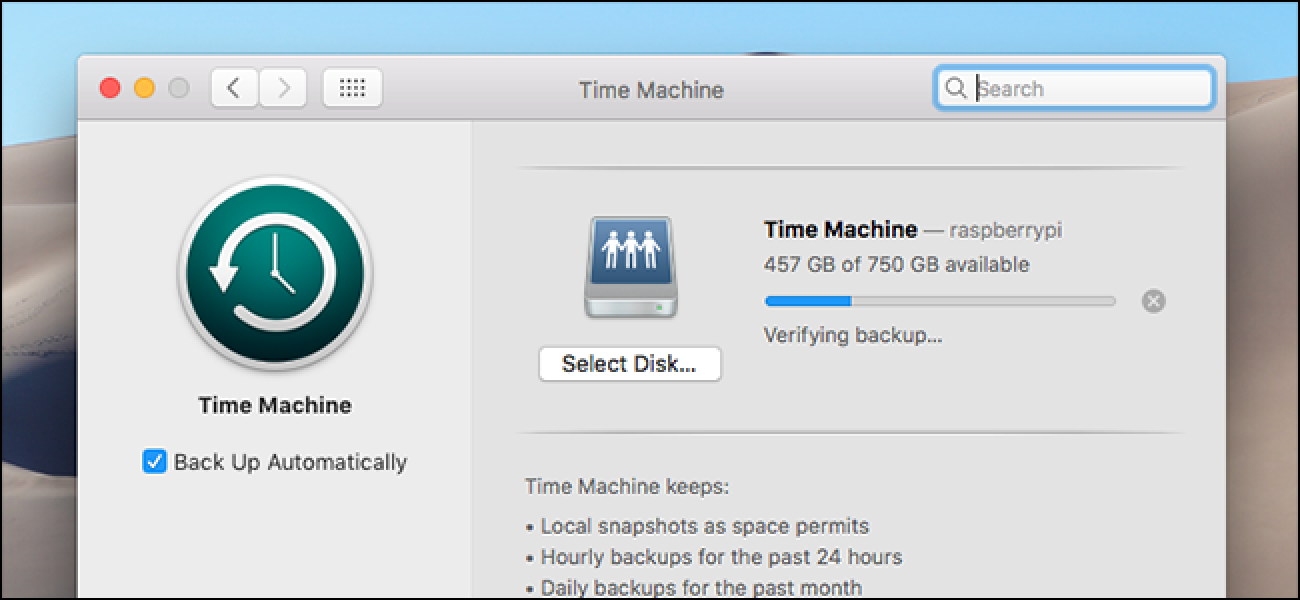 will time machine backup my applications