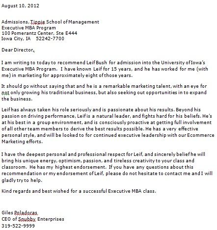 do you need recommendation letters for undergraduate application