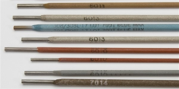 types of welding rods and their applications pdf
