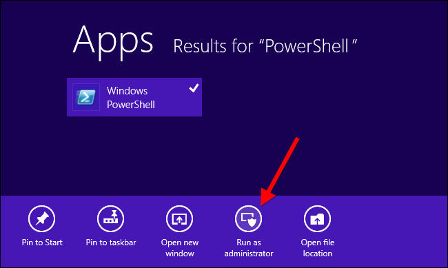 windows 8 applications not opening