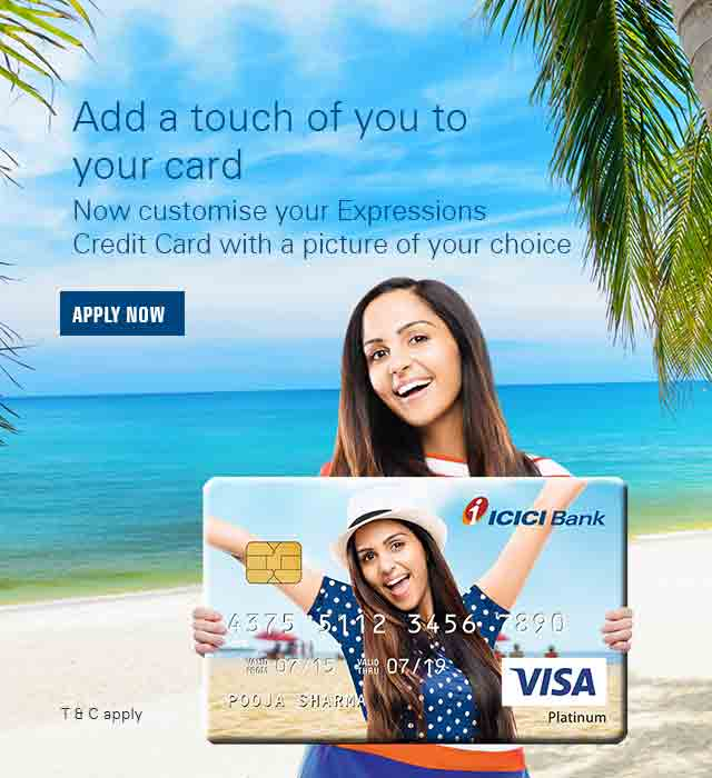 icici bank credit card application status customer care number