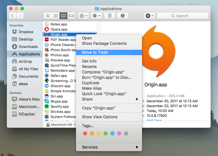 how to get to applications folder on mac