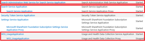 search service application in sharepoint 2013 foundation